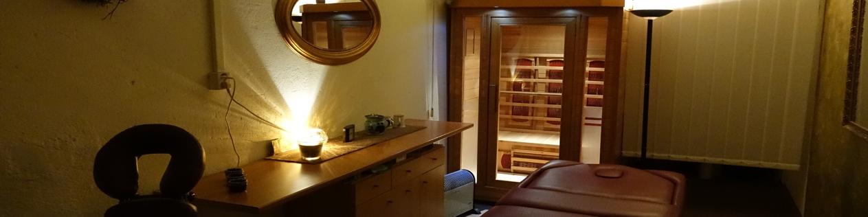 masérna s vyhřívaným lůžkem a infrakabinou - masáže v Dejvicích